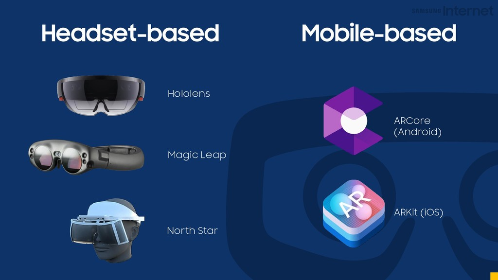 Headset-based Mobile-based Hololens Magic Leap ...