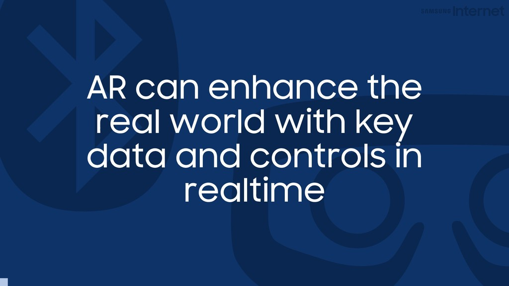 AR can enhance the real world with key data and...