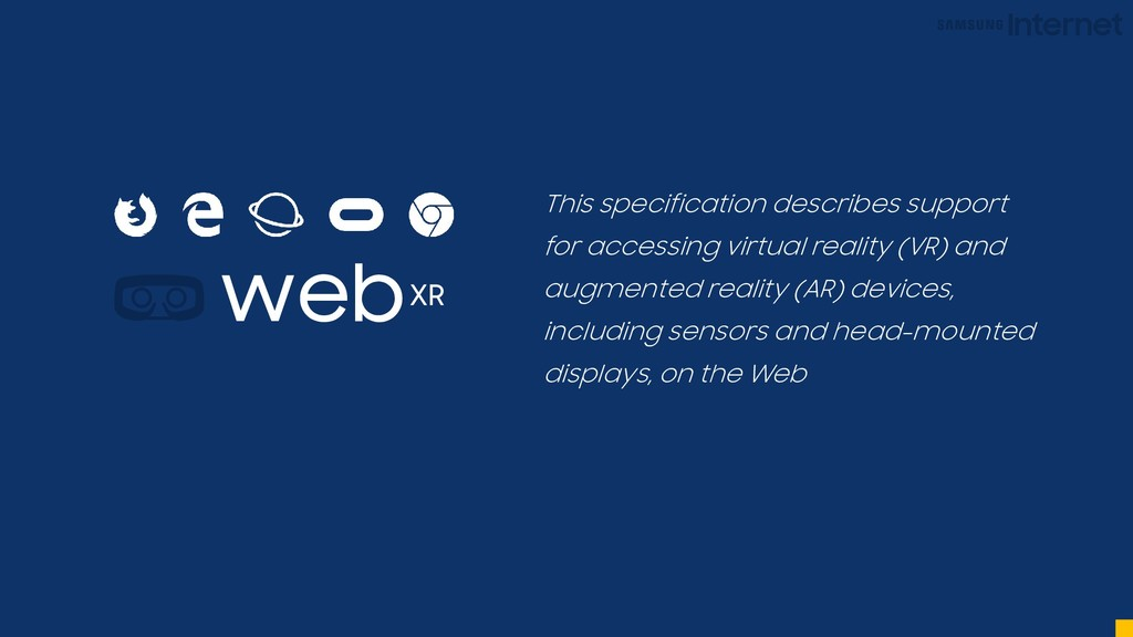 web This specification describes support for ac...