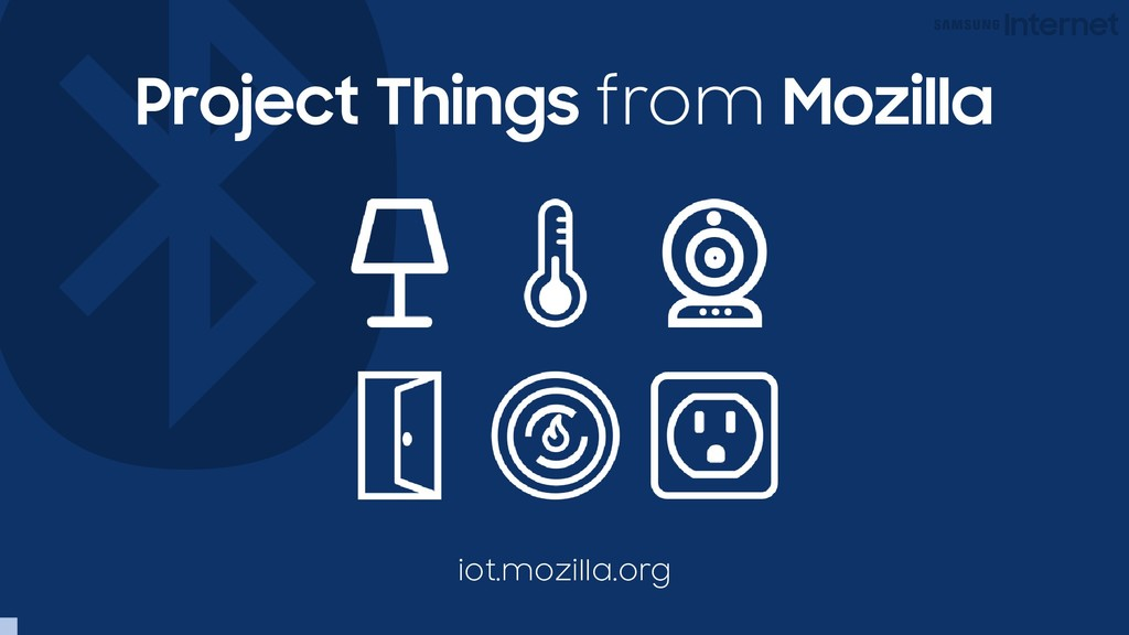 Project Things from Mozilla iot.mozilla.org