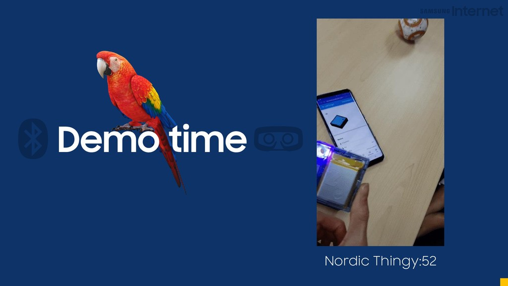 Demo time Nordic Thingy:52