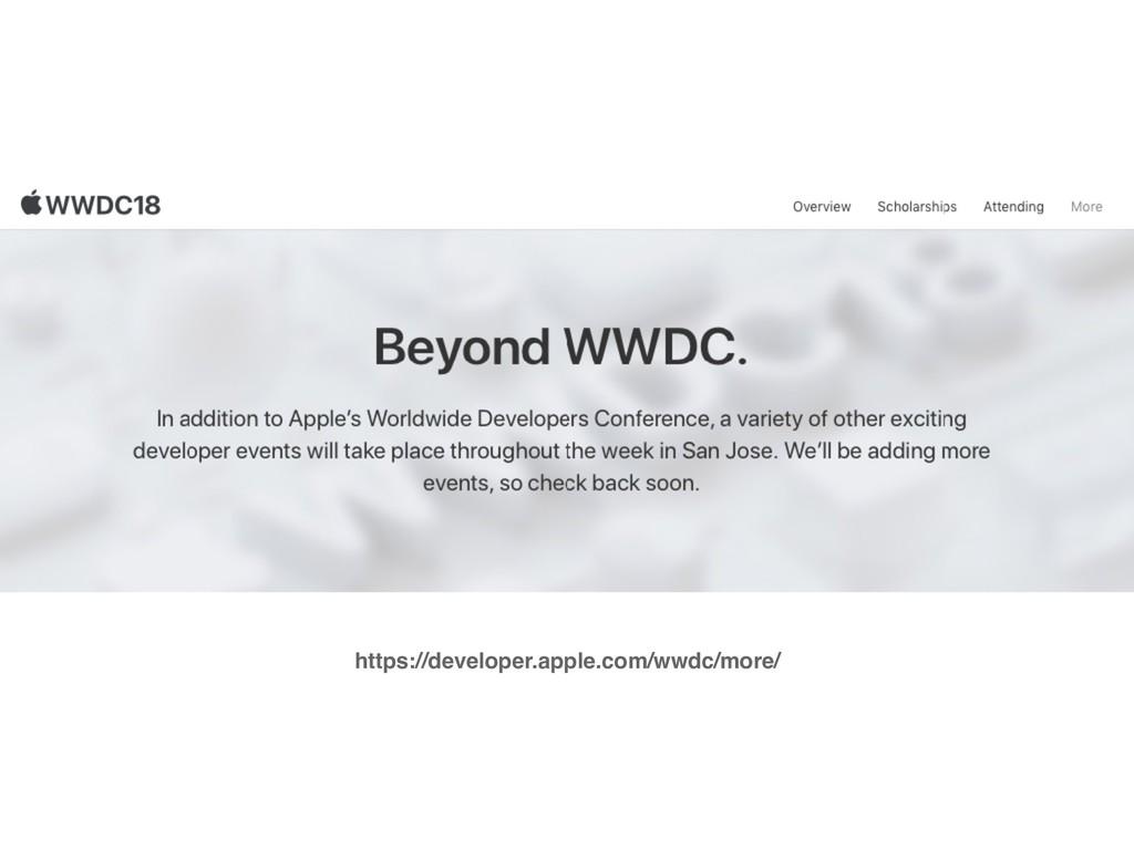 https://developer.apple.com/wwdc/more/