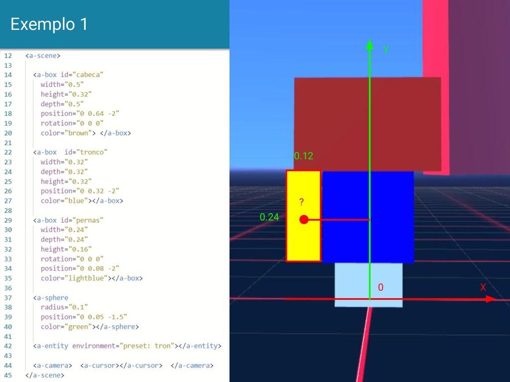 Exemplo 1 16 Y X 0 0.12 0.24 ?