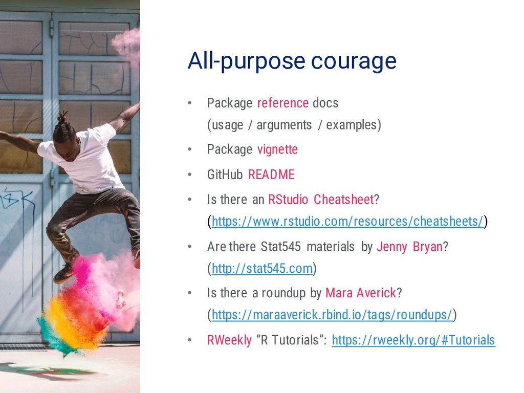 23 All-purpose courage • Package reference docs...