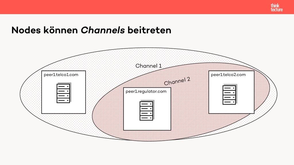 Channel 1 Channel 2 Nodes können Channels beitr...