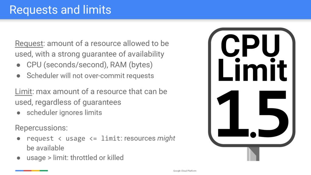 Google Cloud Platform Requests and limits Reque...