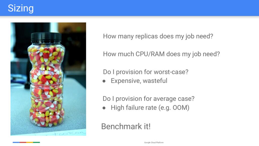 Google Cloud Platform Sizing How many replicas ...