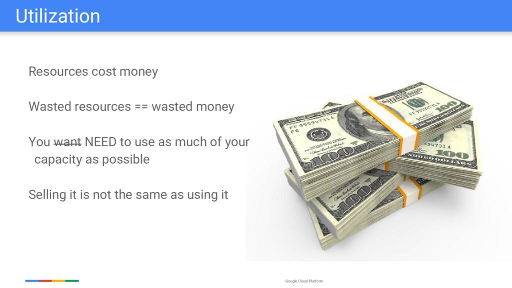 Google Cloud Platform Utilization Resources cos...