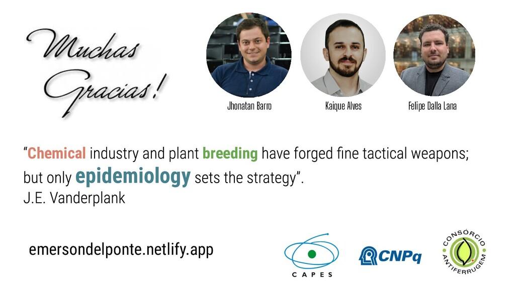 Chemical breeding epidemiology Kaique Alves Fel...