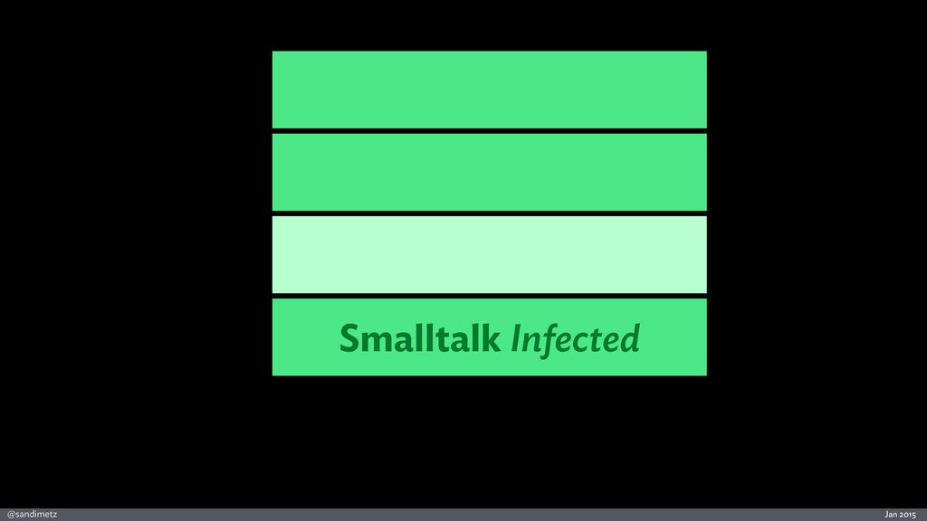Jan 2015 @sandimetz Smalltalk Infected