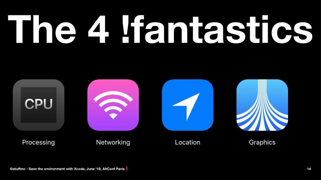 The 4 !fantastics numbe @stuffmc • Save the envi...