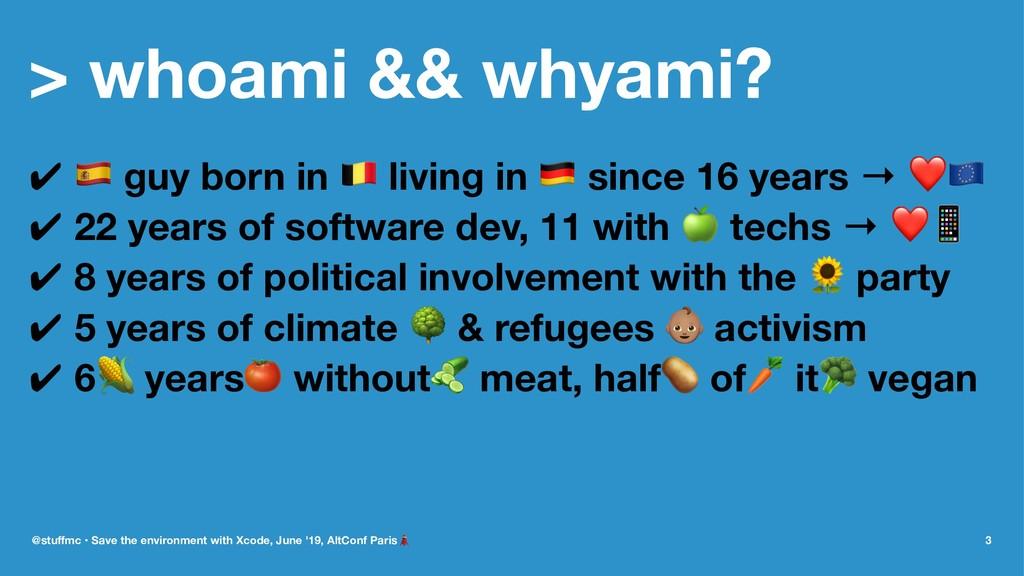 """> whoami && whyami? ✔ ! guy born in """" living in..."""