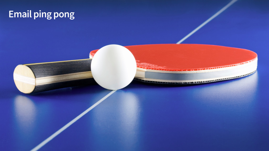 Email ping pong