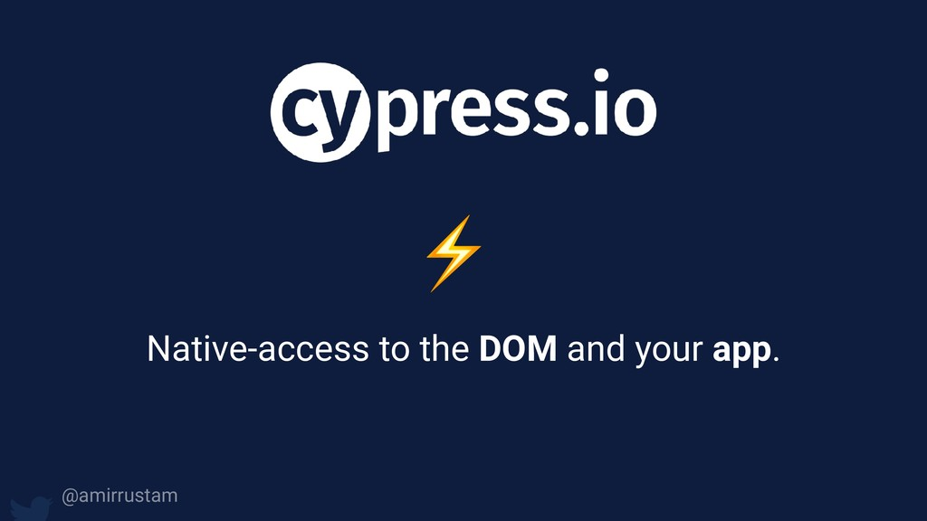 ⚡ Native-access to the DOM and your app. @amirr...
