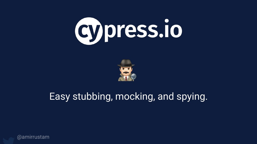 0 Easy stubbing, mocking, and spying. @amirrust...