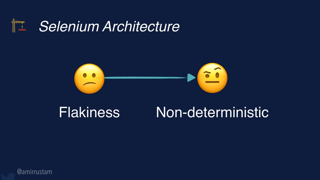 Selenium Architecture  Flakiness  Non-determin...
