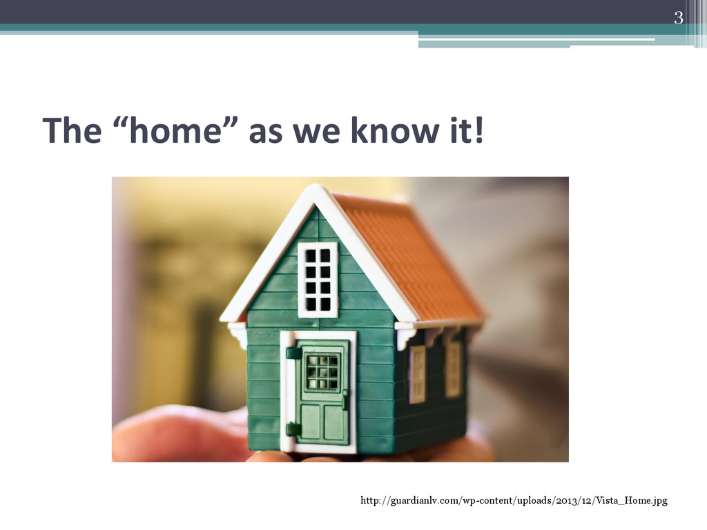 """The """"home"""" as we know it! http://guardianlv.com..."""