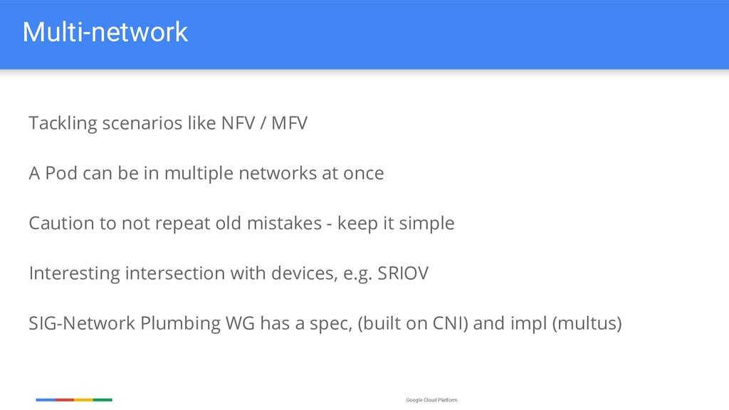Google Cloud Platform Multi-network Tackling sc...