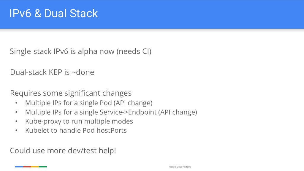 Google Cloud Platform IPv6 & Dual Stack Single-...