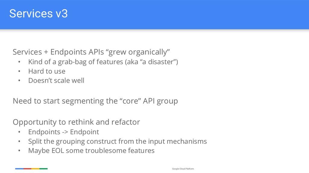 Google Cloud Platform Services v3 Services + En...