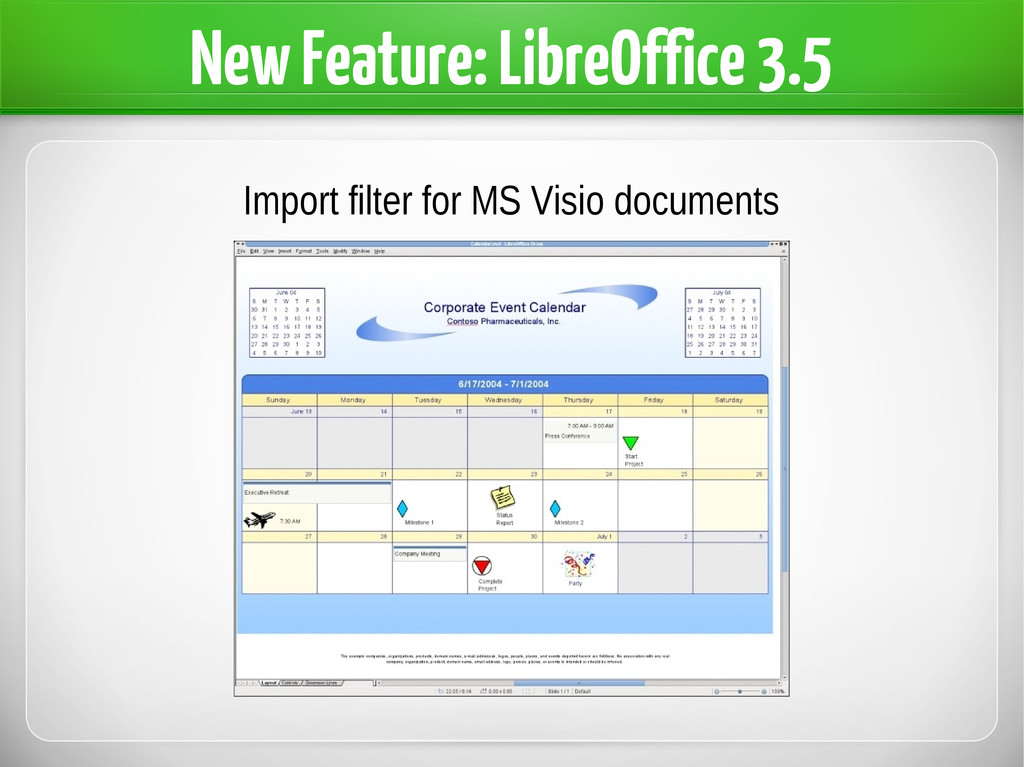 New Feature: LibreOffice 3.5 Import filter for ...