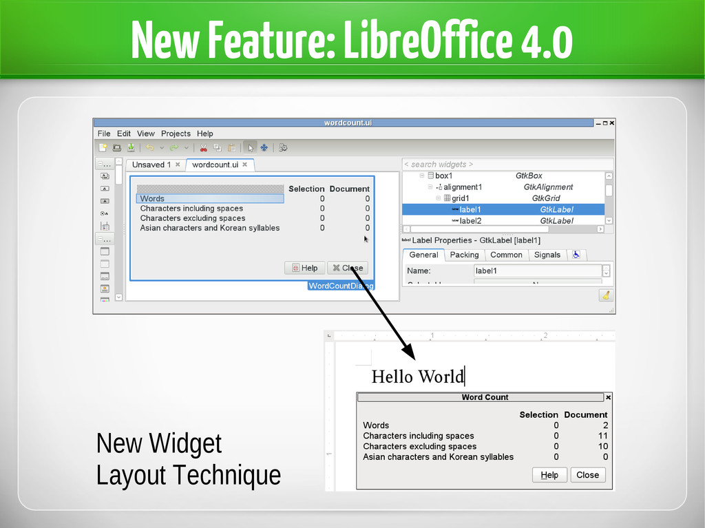 New Feature: LibreOffice 4.0 New Widget Layout ...