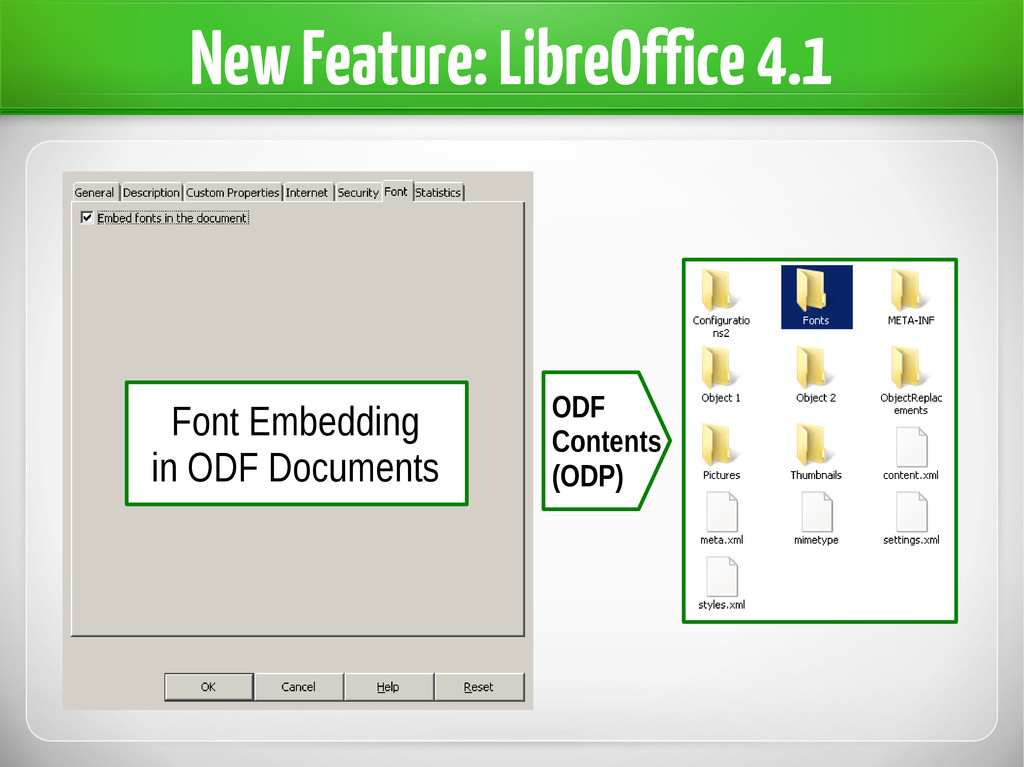 New Feature: LibreOffice 4.1 Font Embedding in ...