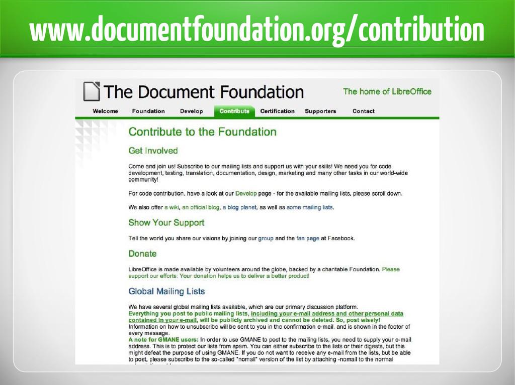www.documentfoundation.org/contribution