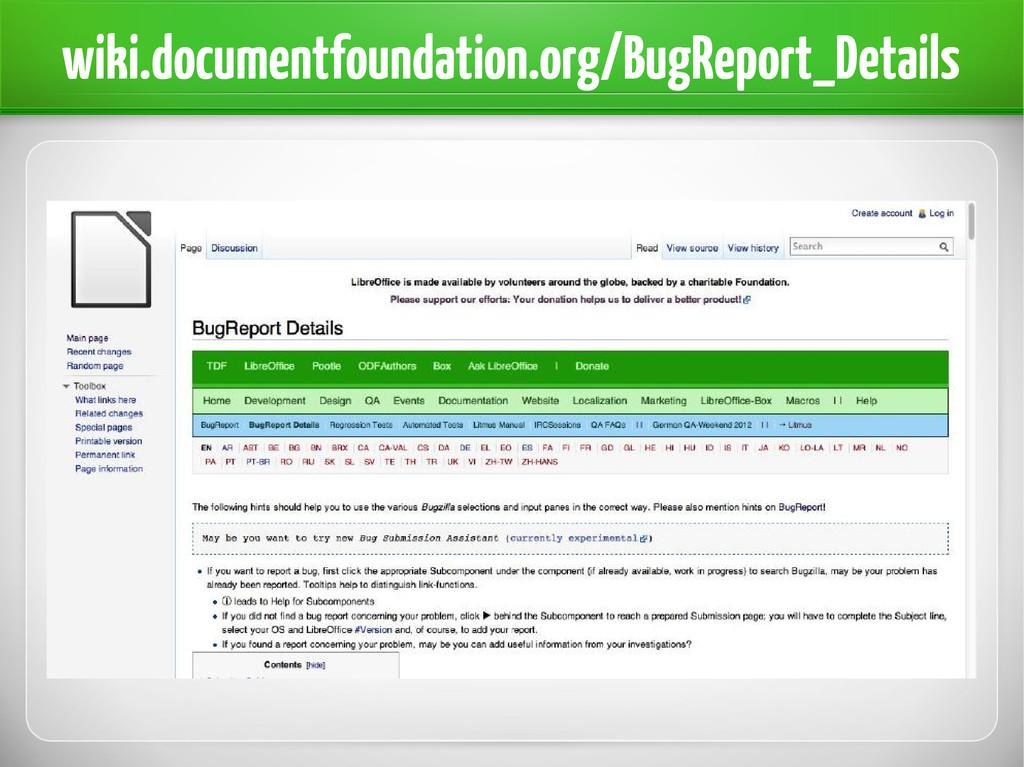 wiki.documentfoundation.org/BugReport_Details