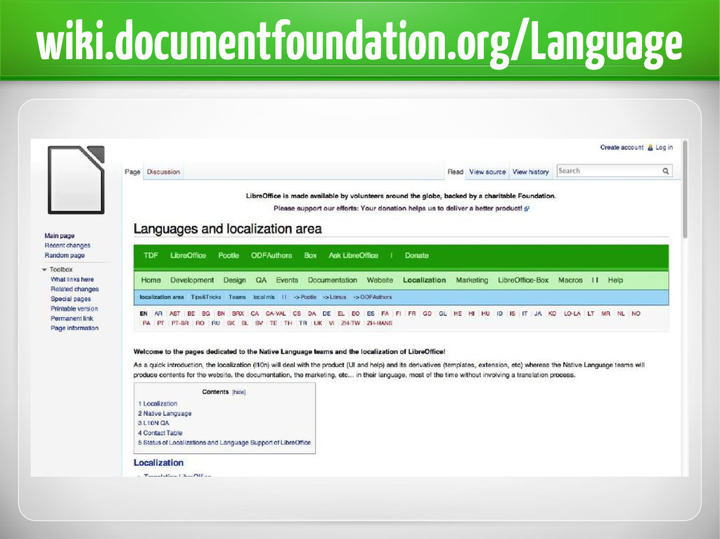 wiki.documentfoundation.org/Language