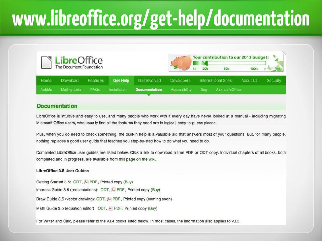 www.libreoffice.org/get-help/documentation