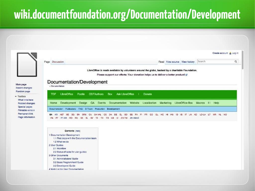 wiki.documentfoundation.org/Documentation/Devel...