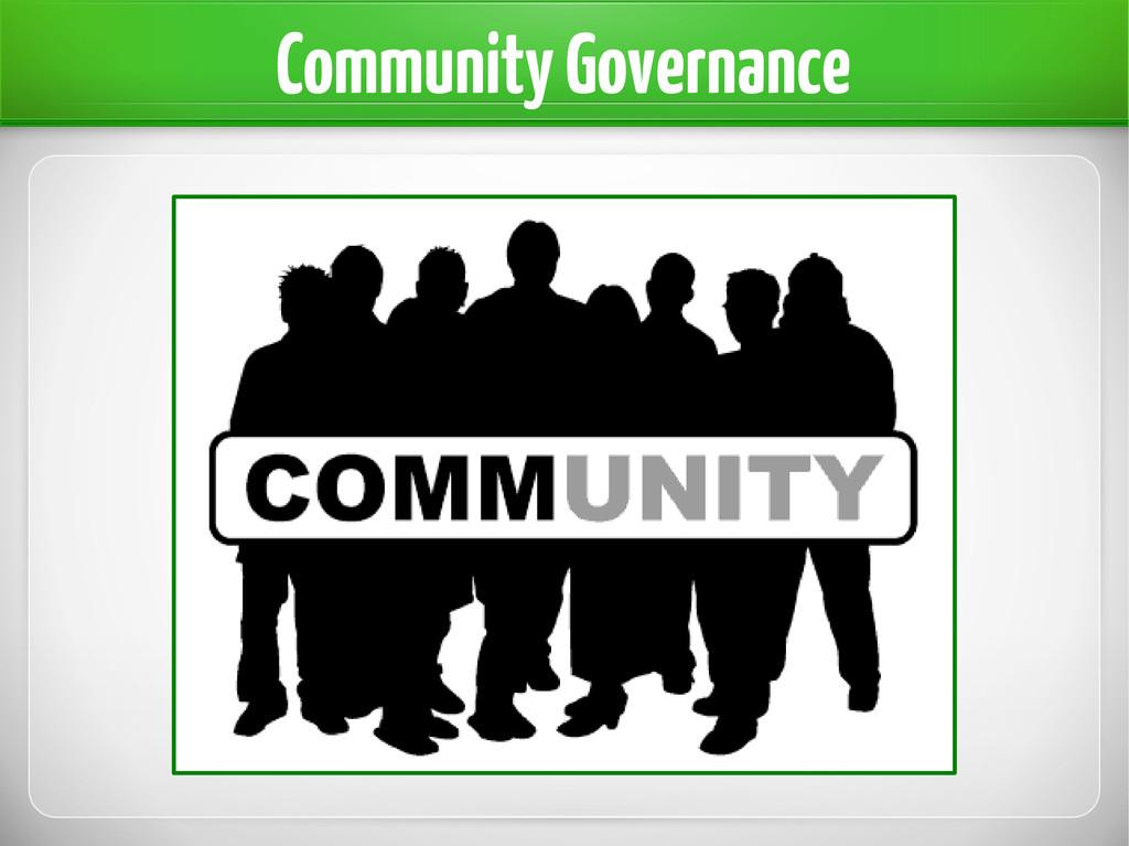 Community Governance