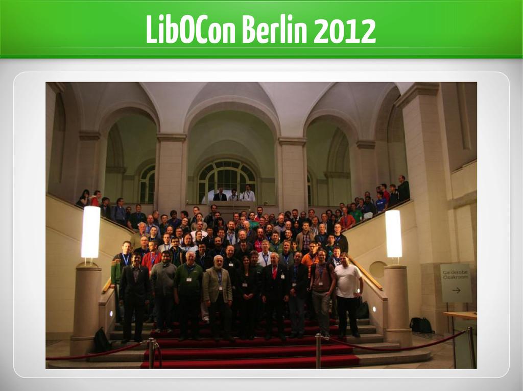 LibOCon Berlin 2012