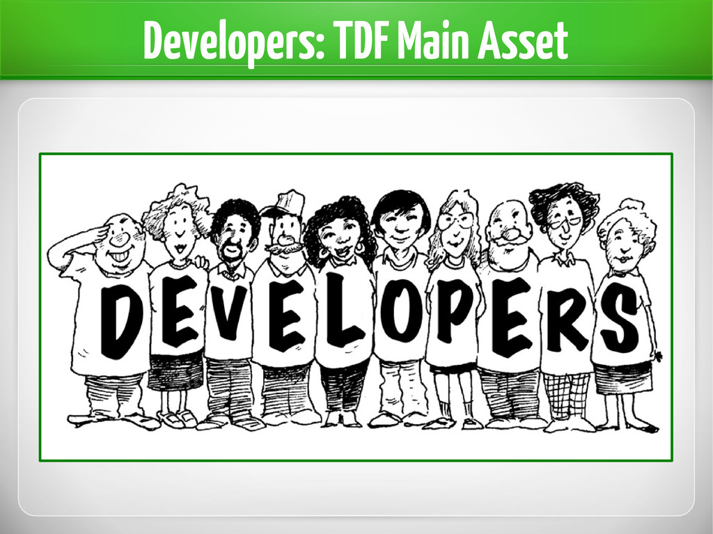 Developers: TDF Main Asset