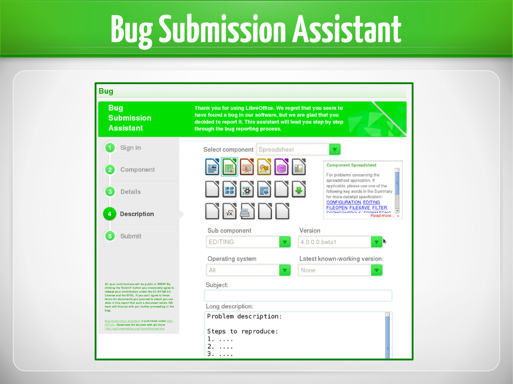 Bug Submission Assistant
