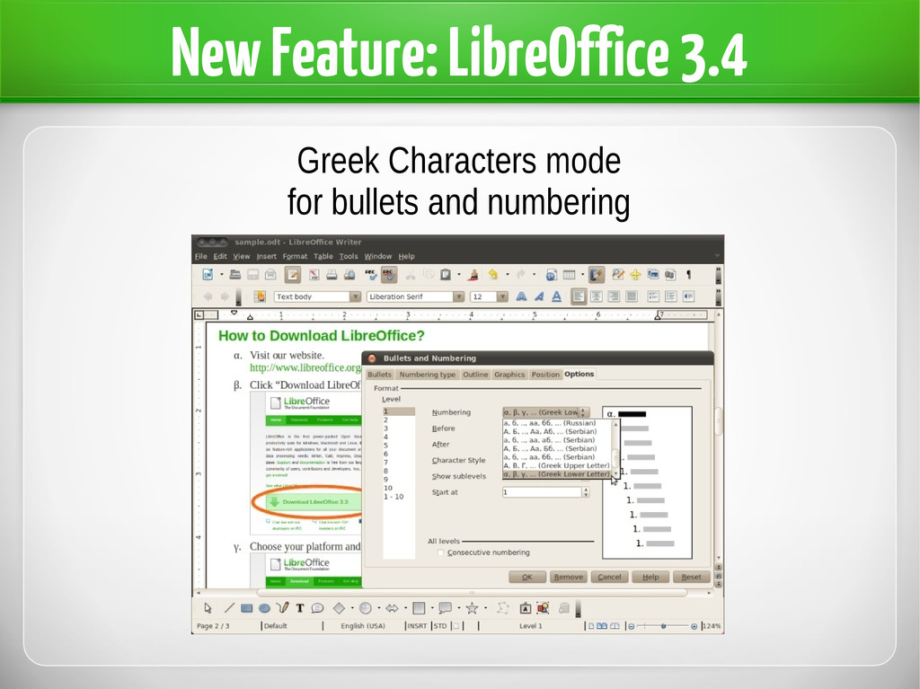 New Feature: LibreOffice 3.4 Greek Characters m...