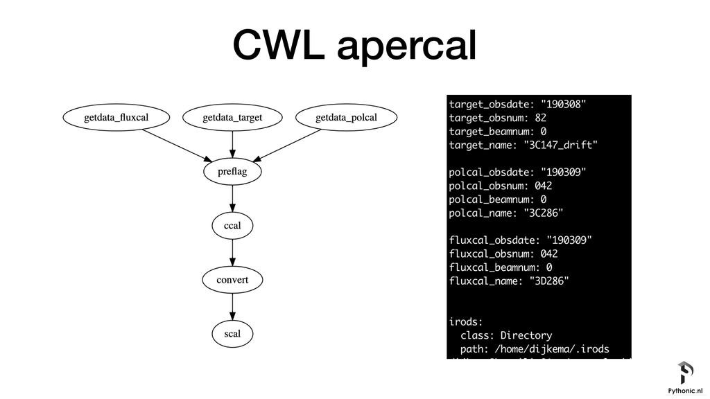 CWL apercal