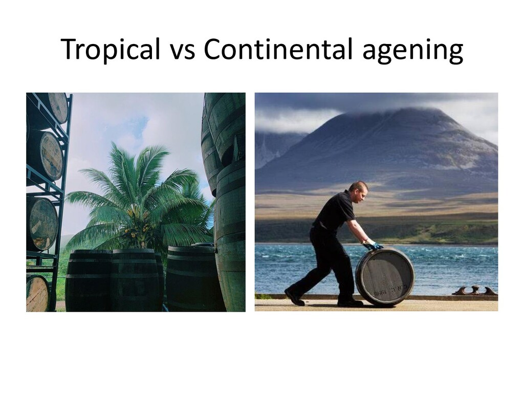 Tropical vs Continental agening