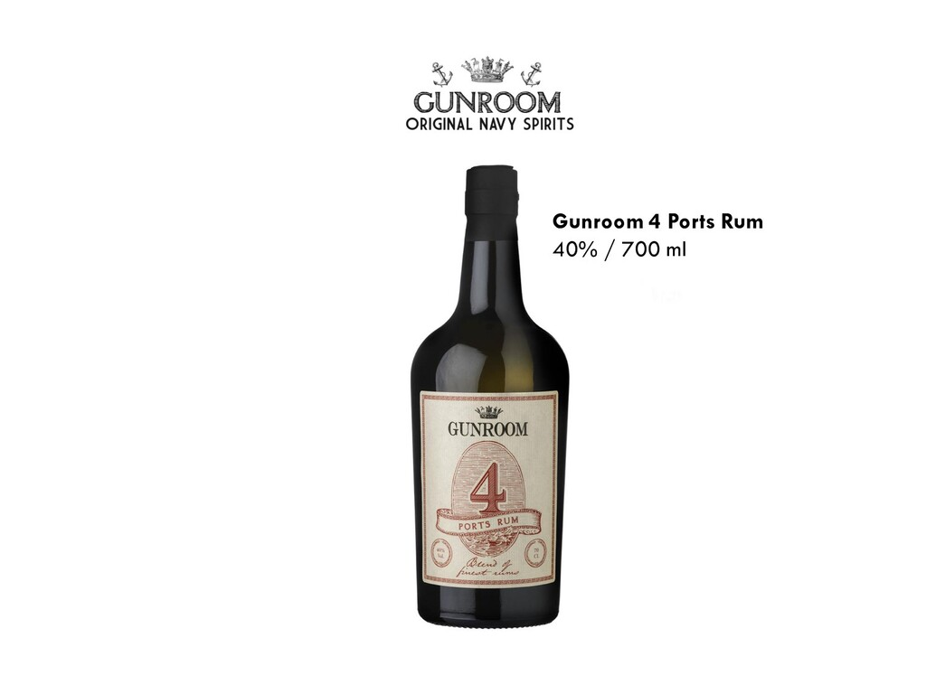 Gunroom 4 Ports Rum 40% / 700 ml