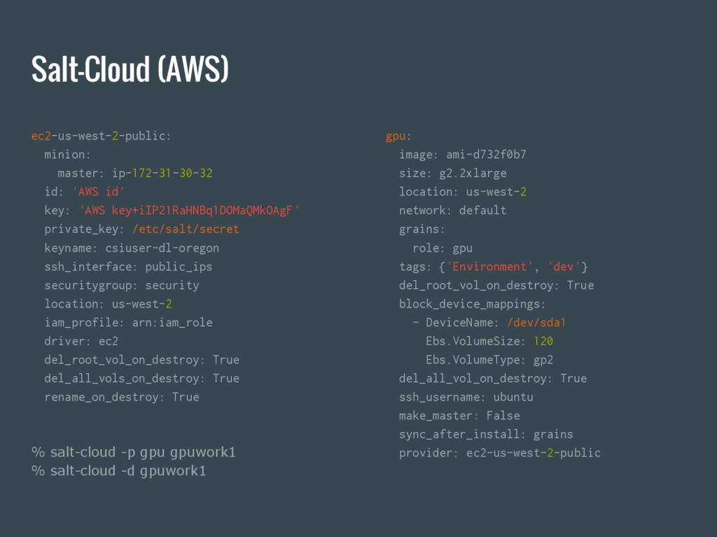 Salt-Cloud (AWS) ec2-us-west-2-public: minion: ...