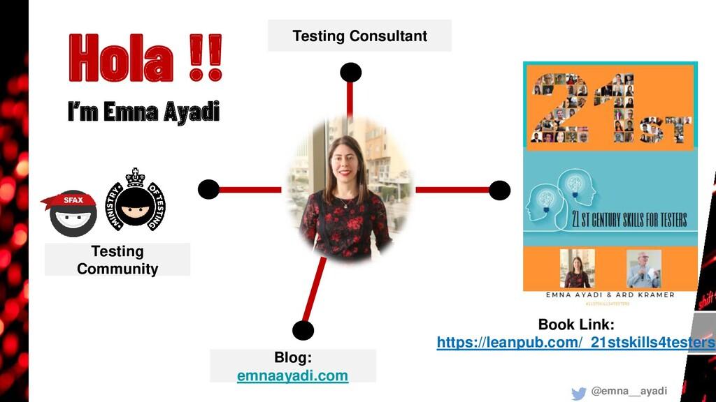 Testing Consultant Blog: emnaayadi.com Testing ...