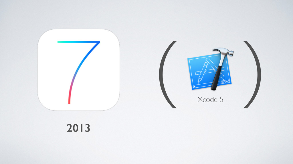 2013 ( ) Xcode 5