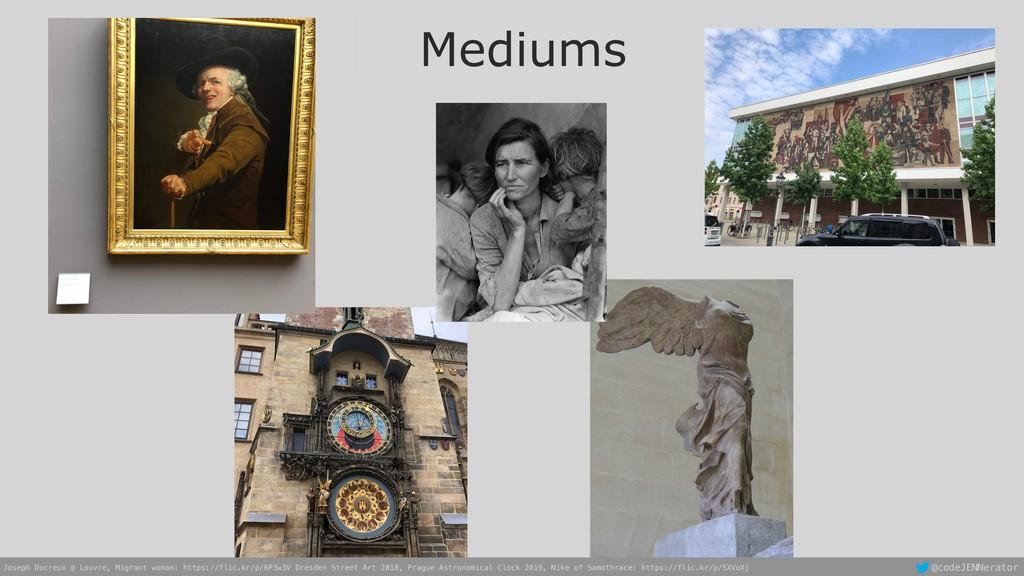 @codeJENNerator Mediums Joseph Ducreux @ Louvre...
