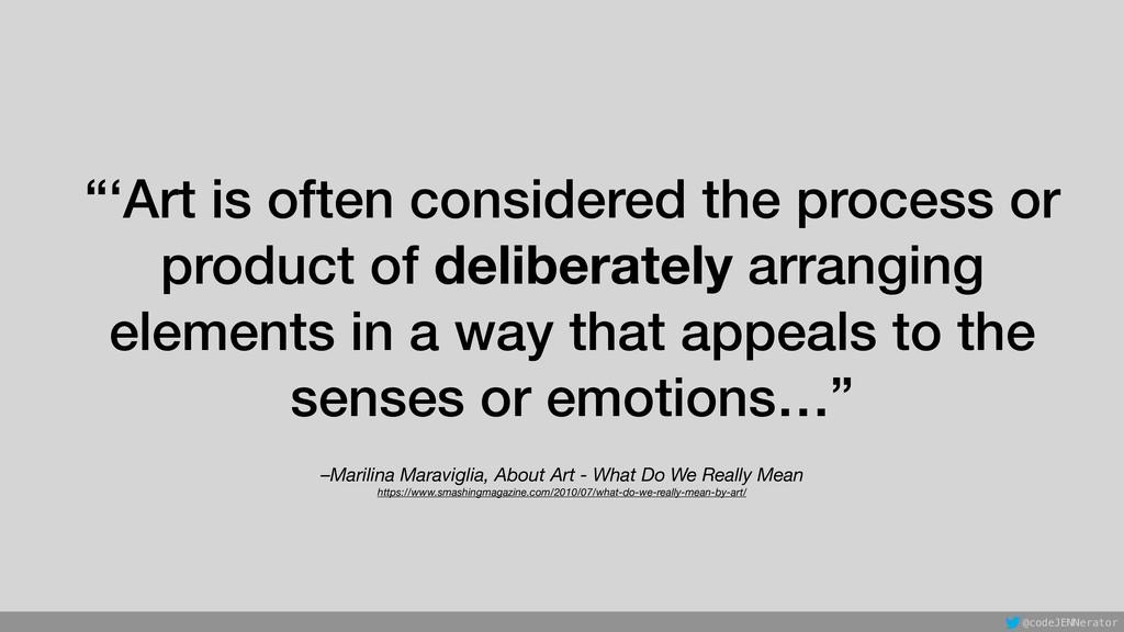 –Marilina Maraviglia, About Art - What Do We Re...