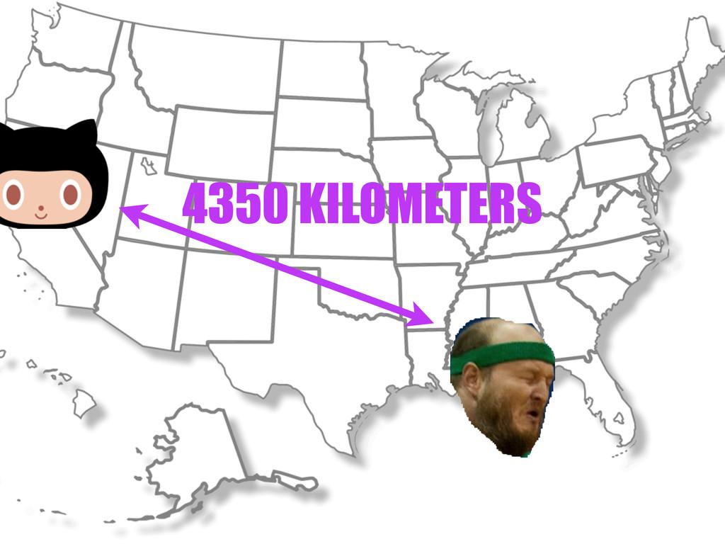 4350 KILOMETERS