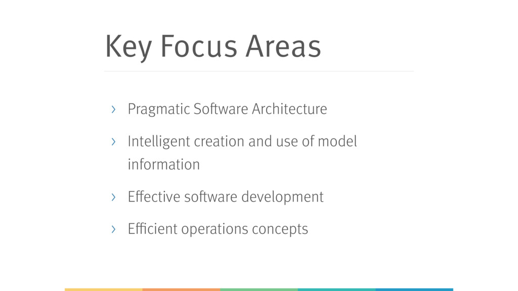 Key Focus Areas > Pragmatic Software Architectu...