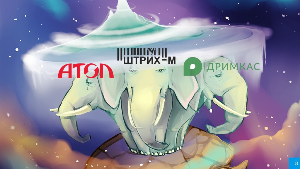 Лидеры рынка кассового ПО России 8 8