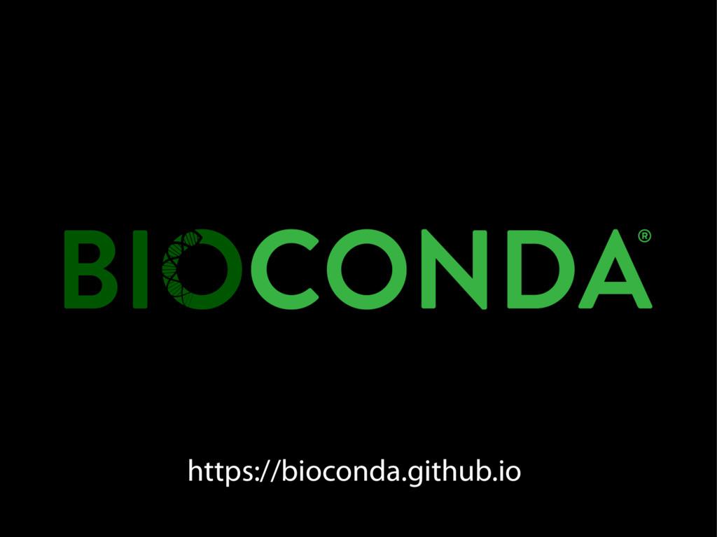 https://bioconda.github.io