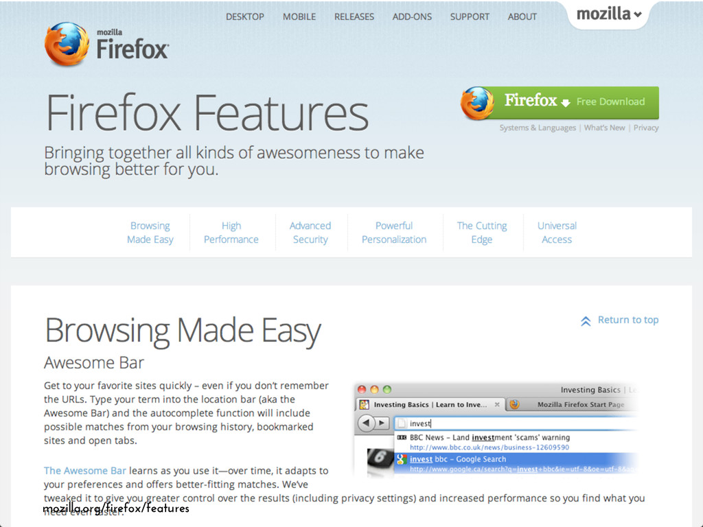 mozilla.org/firefox/features